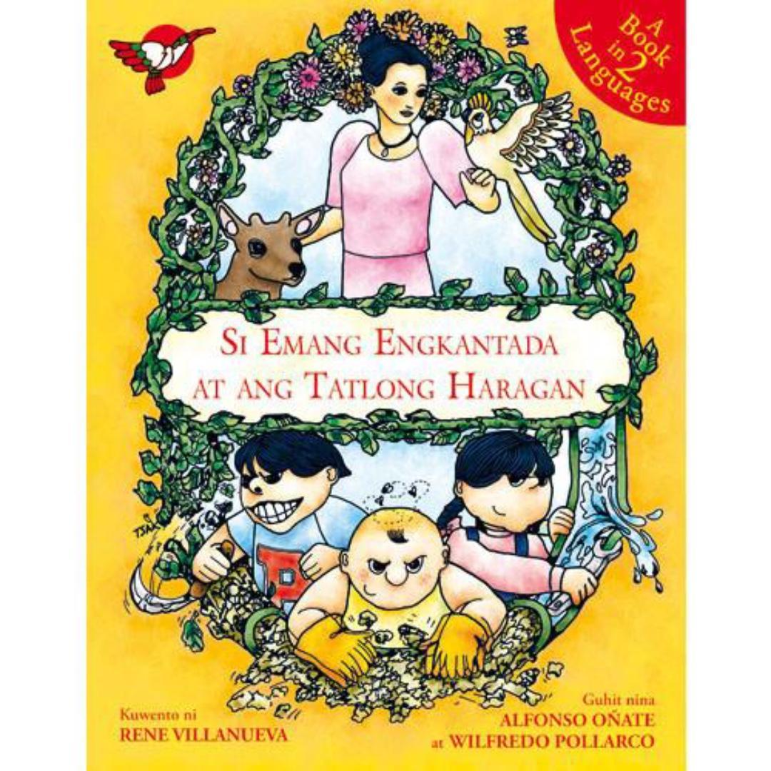 Si Emang Engkantada at ang Tatlong Haragan   English Filipino Bilingual   Children's Book