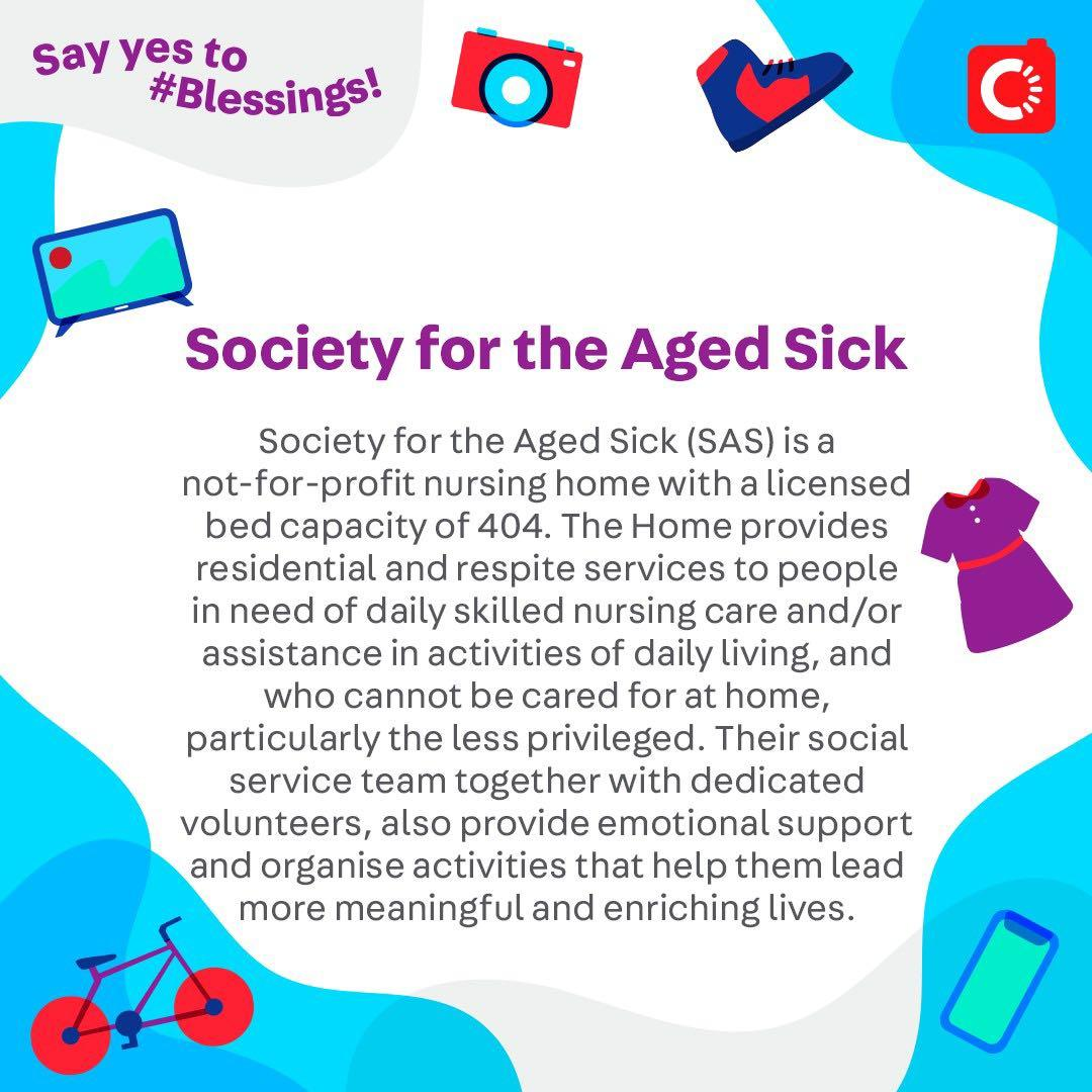 Society for the Aged Sick is looking for...
