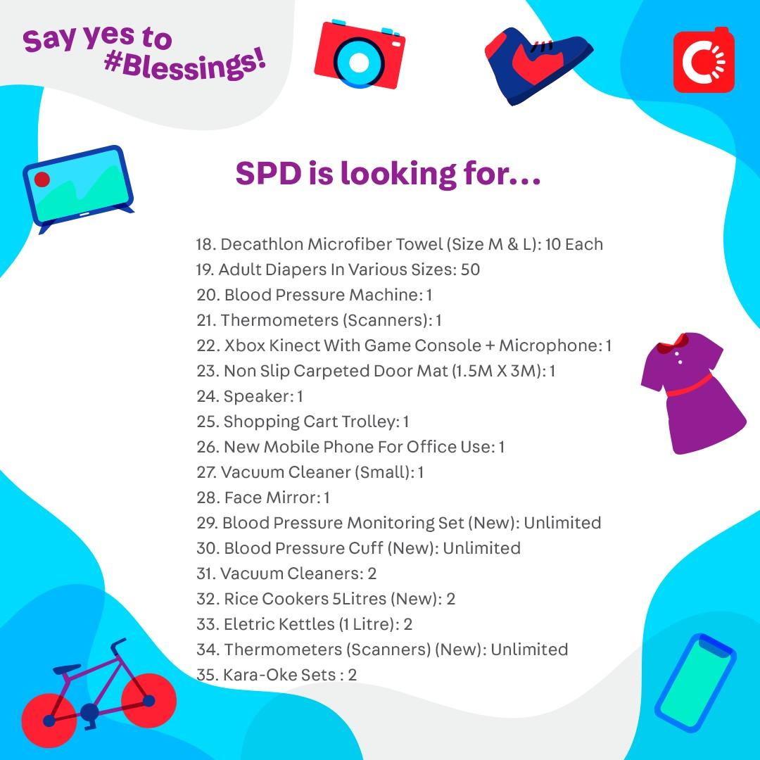 SPD is looking for...