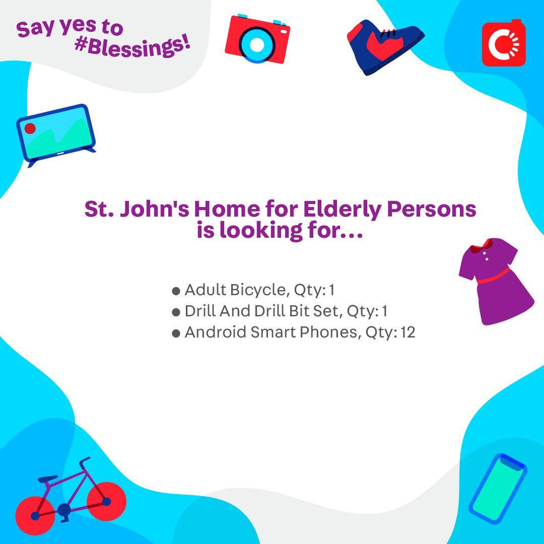 St. John's Home for Elderly Persons is looking for...
