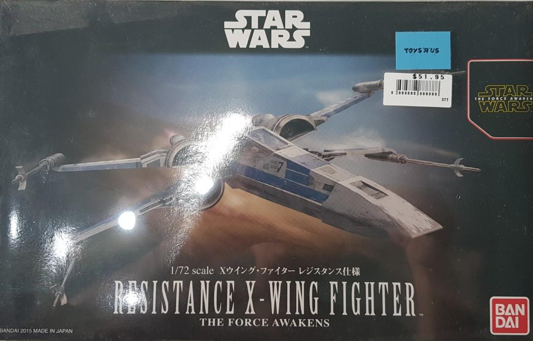 STAR WARS The Force Awakens RESISTANCE X-WING Action Figure TAKARA TOMY