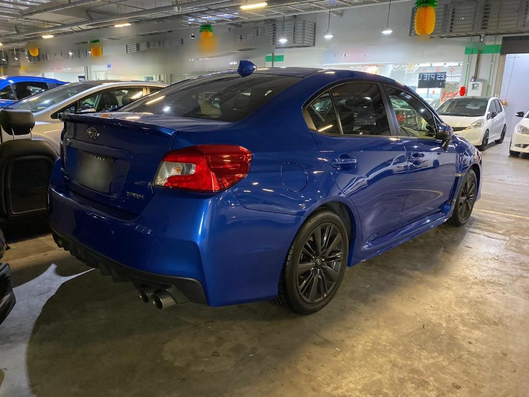 Subaru WRX 2.0 AWD CVT (A)