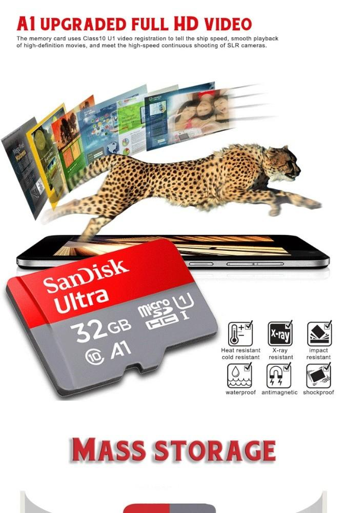 Super fast Class 10 Micro SD card by sandisk