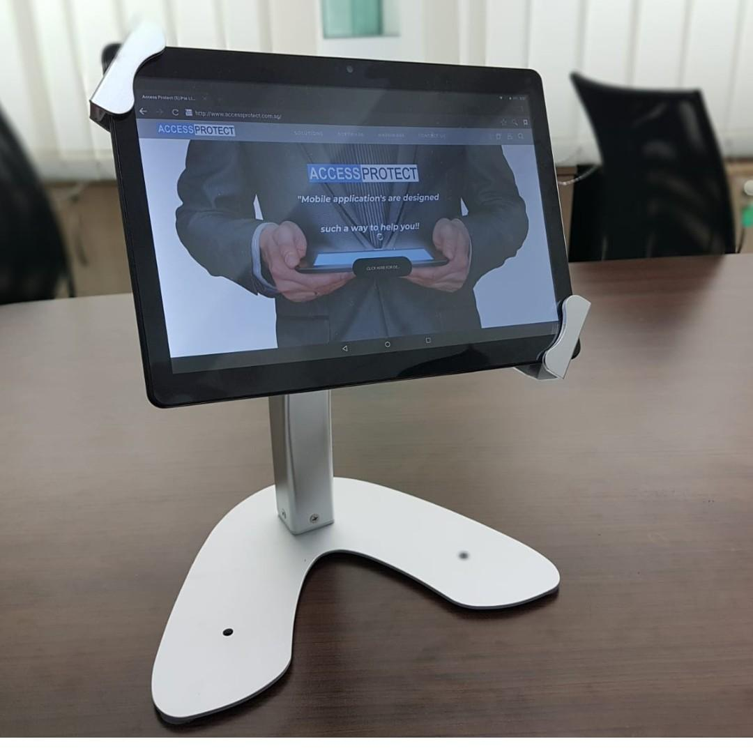 Tablet table stand with lock whatsapp 8498 4312