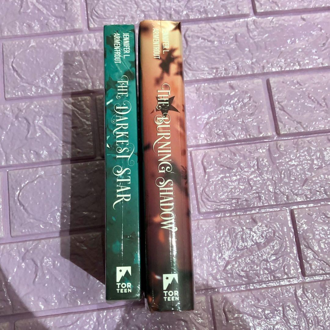 The darkest star bundle paperback and hardbound jennifer l. Armentrout ya fantasy books set