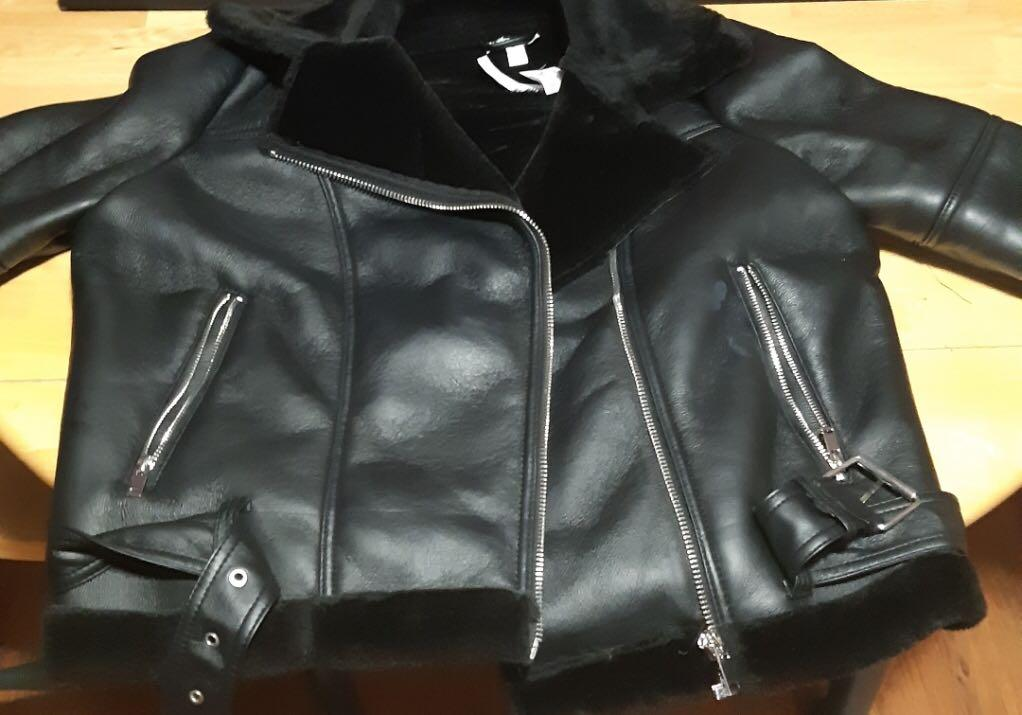 Top shop aviator jacket brand new with tags best offer