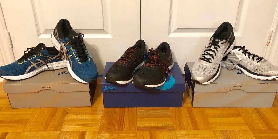 URGENT ~ $500 ~ 3 Brand New ASICS Size 13 Men's Running Shoes