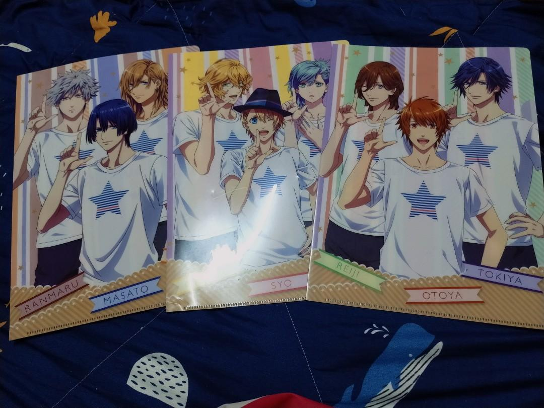 Uta no Prince Sama Maji Love Revolution X LAWSON Clear A4 File [ OFFCIAL]