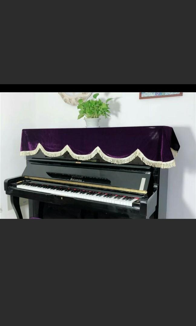 Brand new piano velver cover ( lelong
