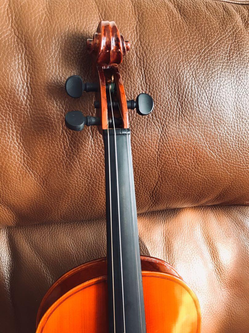 4/4 Violin with bow 小提琴連弓應付中一學樂器需要