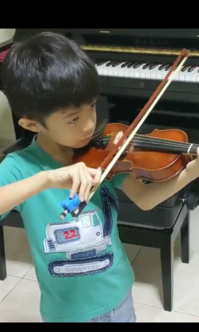 Violin & Piano lesson