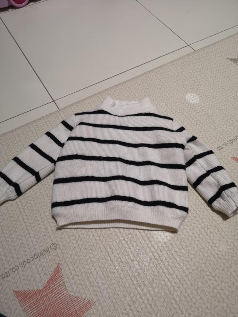 Winter wear Striped long sleeve for toddler