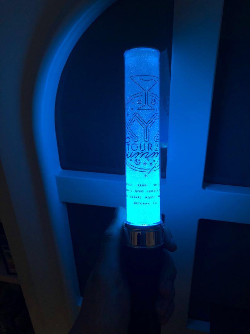 XYZ tour 應援棒 燈