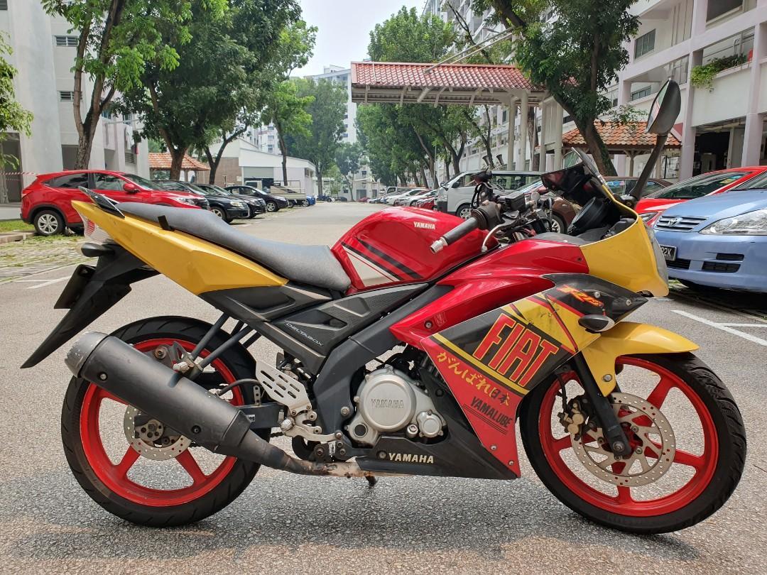 Yamaha r15 motorbike sports bike