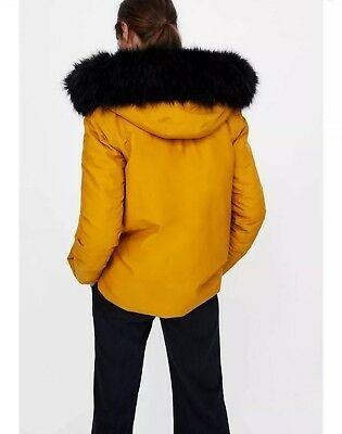 ZARA Winter water repellent coat #