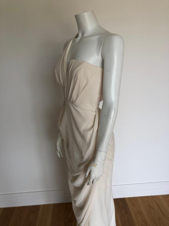 ZIMMERMANN - Goddess Dress in Ivory Vanilla (Size 0) - WORN ONCE