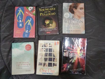 Novel Impor Murah (one day, william grayson, selection) #maugopay