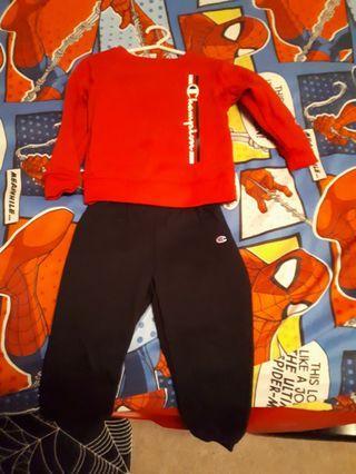 Track suit size 4