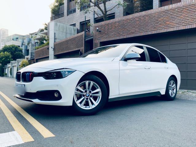 016 BMW F30 318i 總代理 小改款 白 省油省稅金 代步第一首選