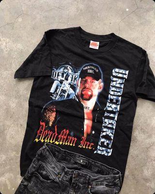 Undertaker Vintage Tshirt Wwf