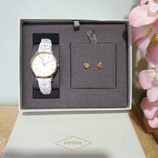 #1111special fossil watch gift set original