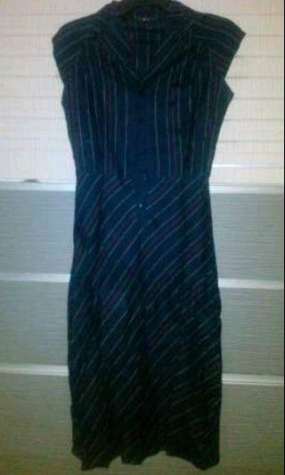 Mango black dress#promosidress