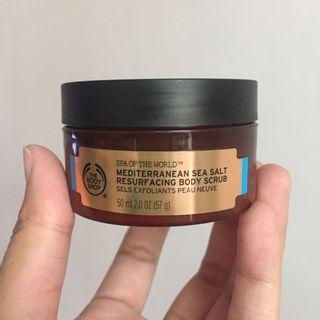 Mediterranean Sea Salt Resurfacing Body Scrub