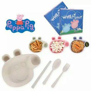 4in1 Set Makan Peppa Pig