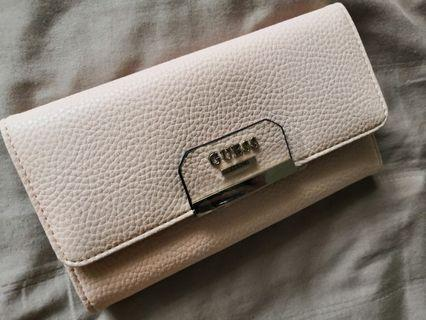Guess Pink Leather Wallet