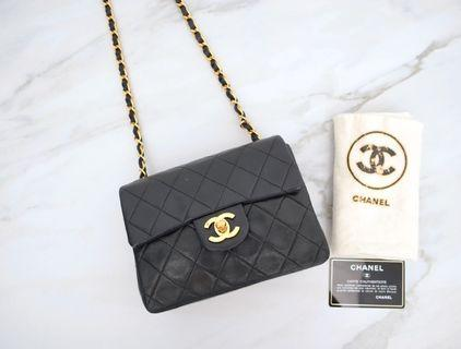 Chanel 羊皮 小方胖 coco 17