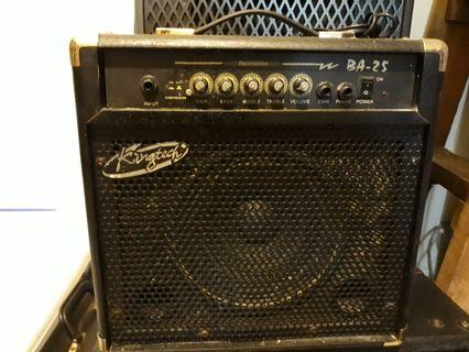 king tech bass amp 25watts