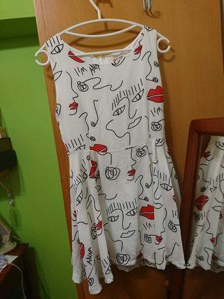 個性塗鴉洋裝