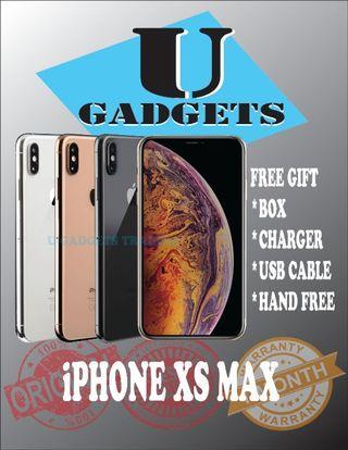 iPhone XS Max 64/256GB Original Apple FullSet 2ndHand