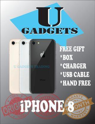 iPhone 8 64GB Original Apple FullSet 2ndHand