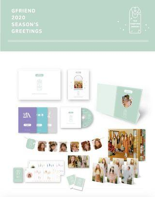 [PREORDER] GFRIEND 2020 SEASONS GREETINGS