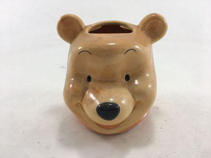 Winnie the pooh head stationary/ toothbrush holder