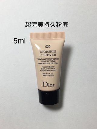 迪奧超完美持久粉底液5ml Dior