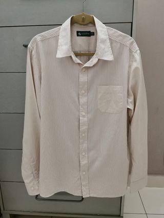 💯 Men's Stripe Shirt / Kemeja Santa Barbara