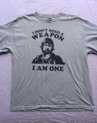 Chuck Norris Movie tshirt MISSING IN ACTION 1984