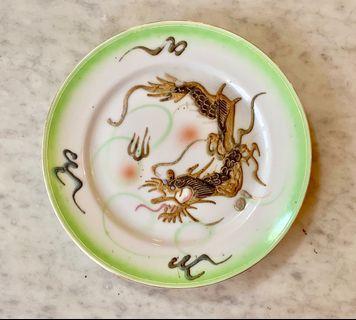 Japanese plate. Vintage