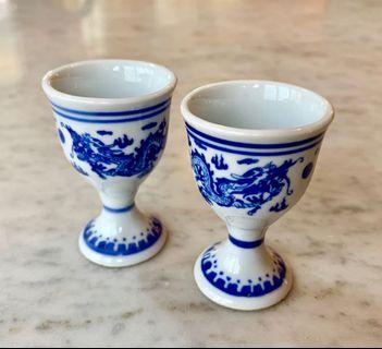 Antique Chinese tea cups
