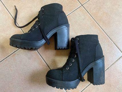 HnM Black Ankle Boots