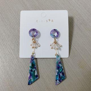 《全新》韓系小清新針式耳環