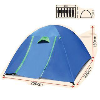 6 Person Tent (Double Layer )