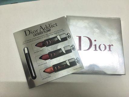 Dior癮誘超模漆光俏唇三色試用卡