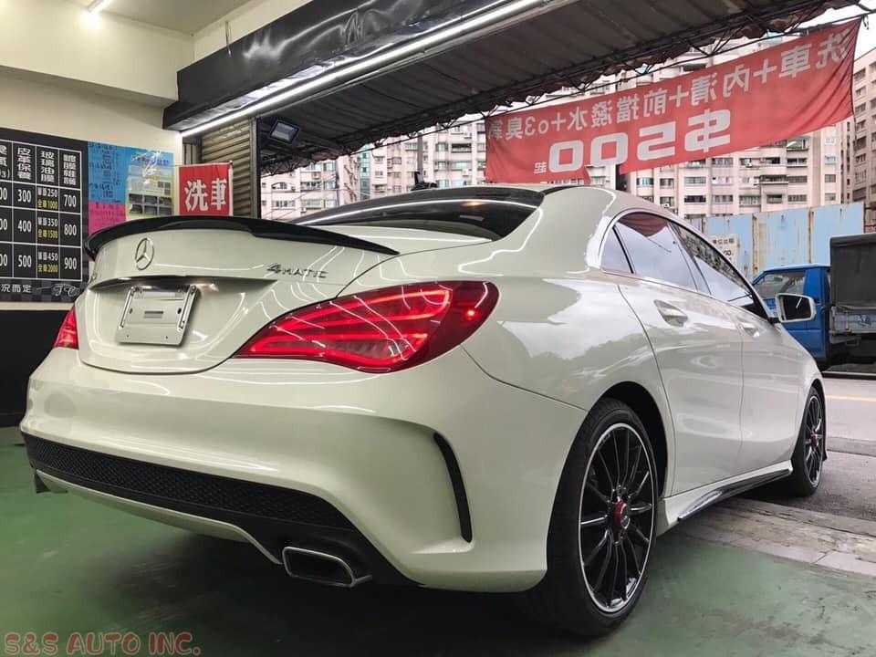 2015 Benz CLA250 白