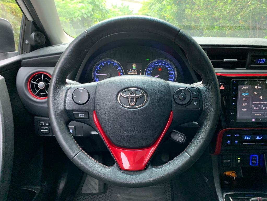 2017 Toyota Altis 稀有頂級X版 白