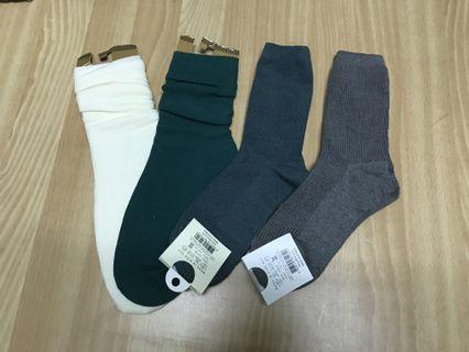 韓版長襪四件組