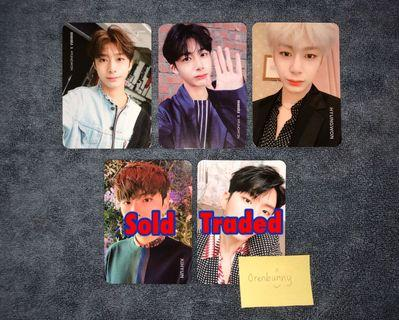 [WTT/WTS] MONSTA X Hyungwon photocards