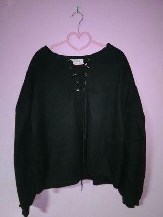 黑色上衣(材質偏厚)